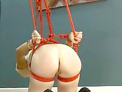 To much of rope and graceful BDSM submissive sex