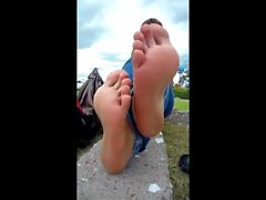 Karima french arab sexy toes
