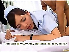 Rio innocent naughty Chinese nurse gets fucked hard