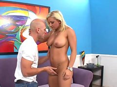 Naughty blonde loves to get penetrated