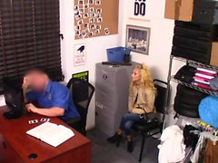 ShopLyfter - Security Guard Bones A Blonde Shoplifter