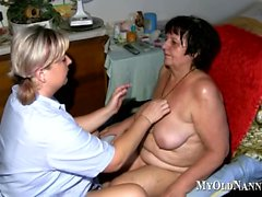 Gilf Gets A Massage From Her Nurse