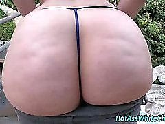 Pov bubble butt shaking her ass