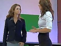 Emily Addison & Heather Vandeven Naked News