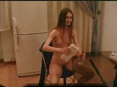 Hairy flexible teen 2