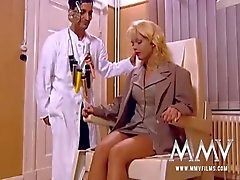 MMV FILMS Horny Doctor Fucked Busty Kelly Trump
